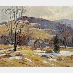 Charles Gordon Harris (American, 1891-1963)      Autumn Hills