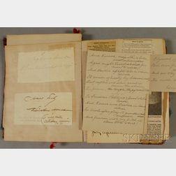 19th Century Journal/Scrapbook