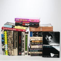 Large Collection of Books on Jazz
