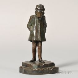 Bronze Figure of a Male Youth