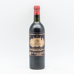 Chateau Palmer 1978, 1 bottle