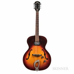 John Abercrombie   Guild Cordoba X-50 Electric Archtop Guitar, c. 1965