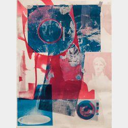 Robert Rauschenberg (American, 1925-2008)      Untitled (Quarry)