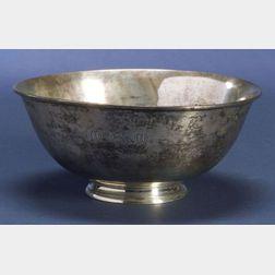 Arthur Stone Sterling Bowl