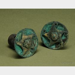 Pre-Columbian Metal and Stone Ear Ornaments