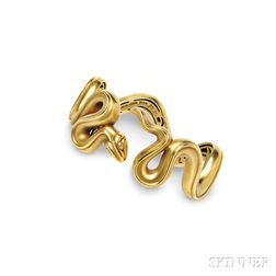 18kt Gold Snake Bracelet, Kieselstein-Cord