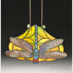 Mosaic Glass Dragonfly Ornament