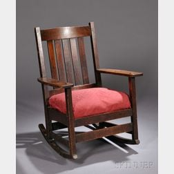 L. & J. G. Stickley Rocking Chair