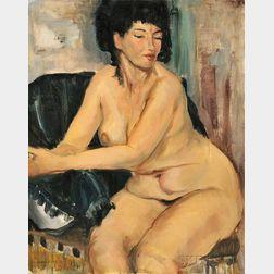Raphael Soyer (American, 1899-1987)      Elsa