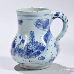 Tin-glazed Earthenware Chinoiserie-decorated Drinking Mug