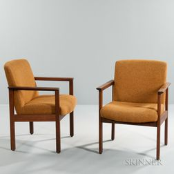 Two Taylor Chair Co. Armchairs