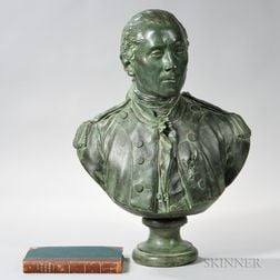 Bronze Bust of John Paul Jones