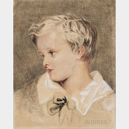 Attributed to Joshua Reynolds (British, 1723-1792)      Head of a Boy