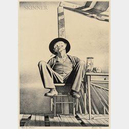 Rockwell Kent (American, 1882-1971)      Wake Up, America!