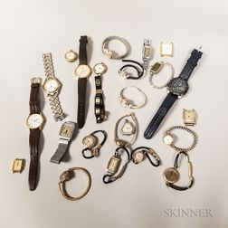 Twenty-four Assorted Wristwatches