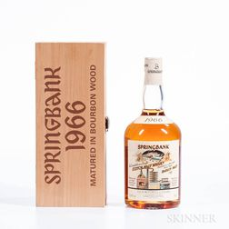 Springbank 31 Years Old 1966, 1 70cl bottle (owc)