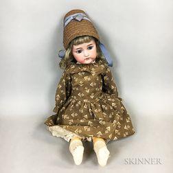 Kammer and Reinhardt Bisque Head Doll