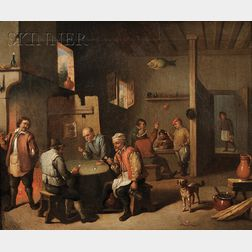 Manner of David Teniers the Younger (Flemish, 1610-1690)      Lot of Two Tavern Scenes