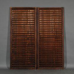 Pair of Sliding Doors, Amado