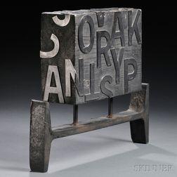 Walter Feldman Sculpture