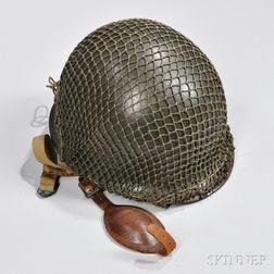 WWII M1C Airborne Helmet