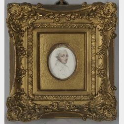John Smart the Elder (British, 1746-1811)      Portrait Head of a Gentleman, Three-quarter View