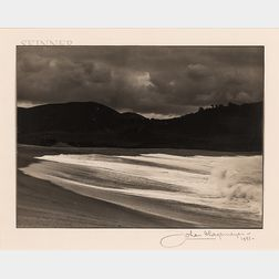 Johan Hagemeyer (American, 1884-1962)      Surf-Carmel Point Beach