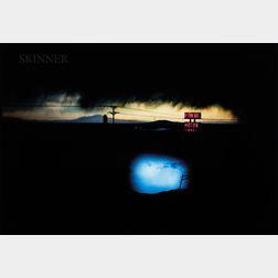 Ernst Haas (Austrian/American, 1921-1986)      Western Skies Motel, New Mexico