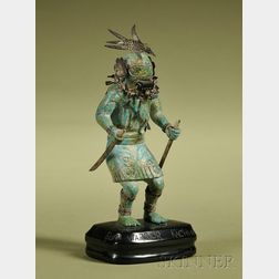 Carved Zuni Warrior Kachina