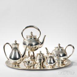 Spanish Silver Coffee and Tea Service