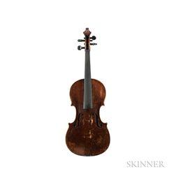 German Violin, Johann Gottlob Heberlein, Neukirchen, 1839