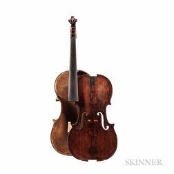 French Violin, Mirecourt, c. 1840
