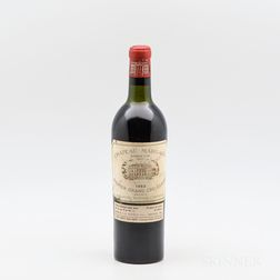 Chateau Margaux 1953, 1 bottle