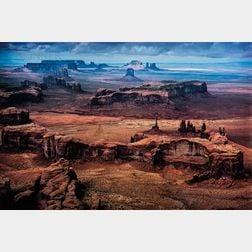 Ernst Haas (Austrian/American, 1921-1986)      Monument Valley, USA