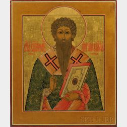 Russian Icon of St. Antipas