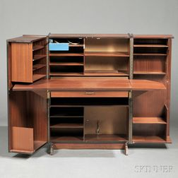Rosewood Cube Desk