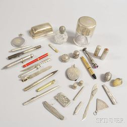 Group of Sterling Silver Accessories