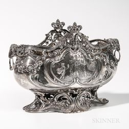 German Sterling Silver Center Bowl