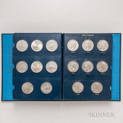 Complete Set of Peace Dollars