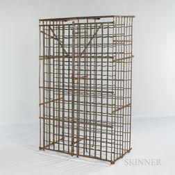 Steel 300-Bottle Wine Cage