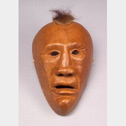 Southeast Carved Wood Mask