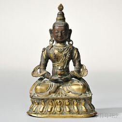Bronze Figure of a Medicine Buddha
