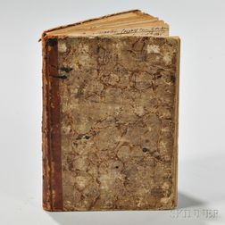 Manuscript Ship's Log of the Brig Falcon