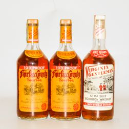 Mixed A Smith Bowman, 3 quart bottles