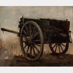 Emil Carlsen (Danish/American, 1853-1932)      Seaweed Cart, Niles's Farm, Gloucester