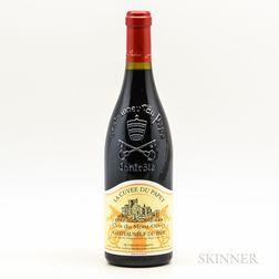 Clos du Mont Olivet Chateauneuf du Pape La Cuvee du Papet 2007, 1 bottle