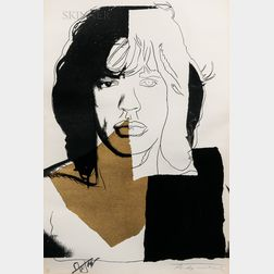 Andy Warhol (American, 1928-1987)      Mick Jagger