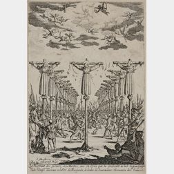 Jacques Callot (French, 1592-1635)      Les martyrs du Japon