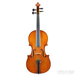 German Violin, Hermann Geipel, Markneukirchen, 1928