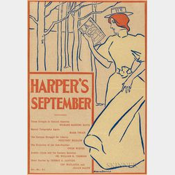 Penfield, Edward (1866-1925) Harper's September   [1895] Poster.